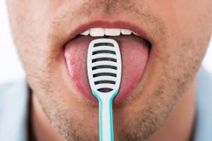 limpieza de lengua